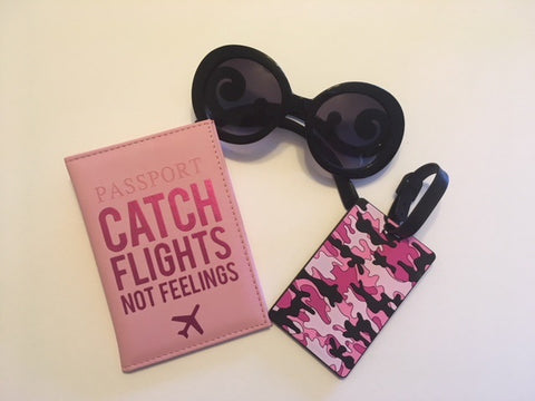 Pink Passion Passport Cover