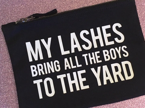 'My Lashes' Makeup Bag