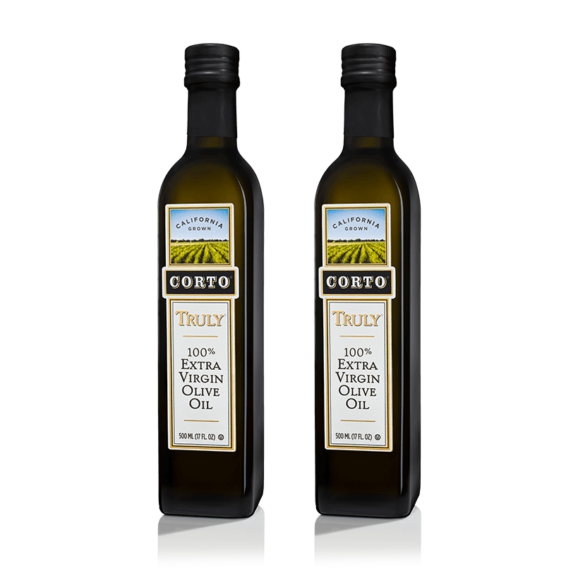 Corto Truly Twin Pack 500mL Olive Oil Bottle