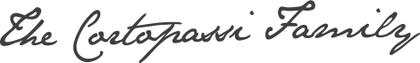 Cortopassi Family Signature