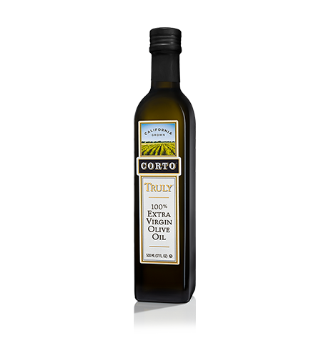 TRULY® 100% Extra Virgin Olive Oil 500mL Single Bottle Product