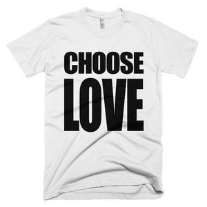 CHOOSE LOVE Tee // White