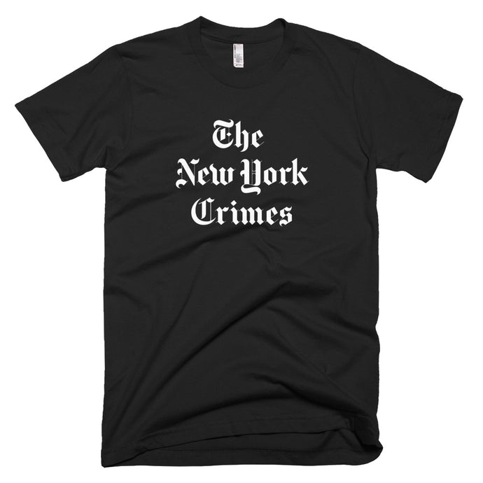 THE NEW YORK CRIMES Tee // Black