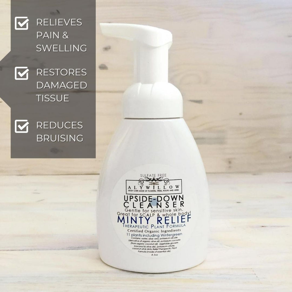 Minty Relief Upside-Down Cleanser