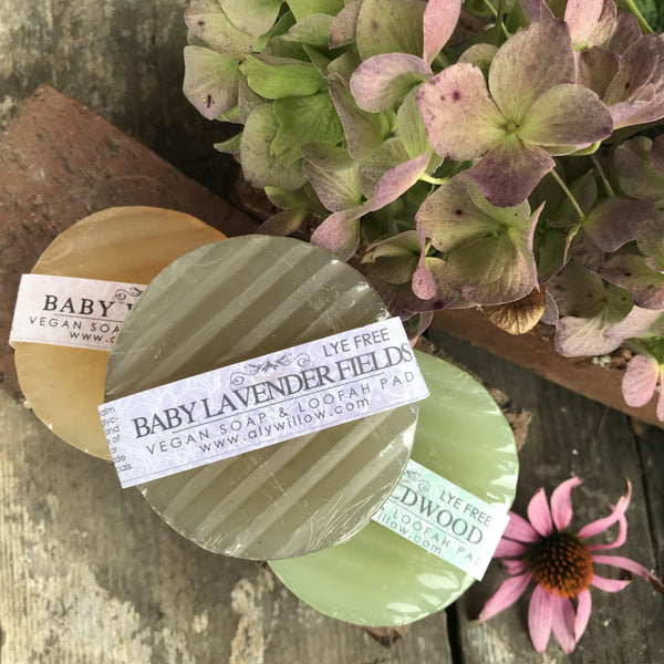 BABY LAVENDER FIELDS Vegan Bar Cleanser - Alywillow