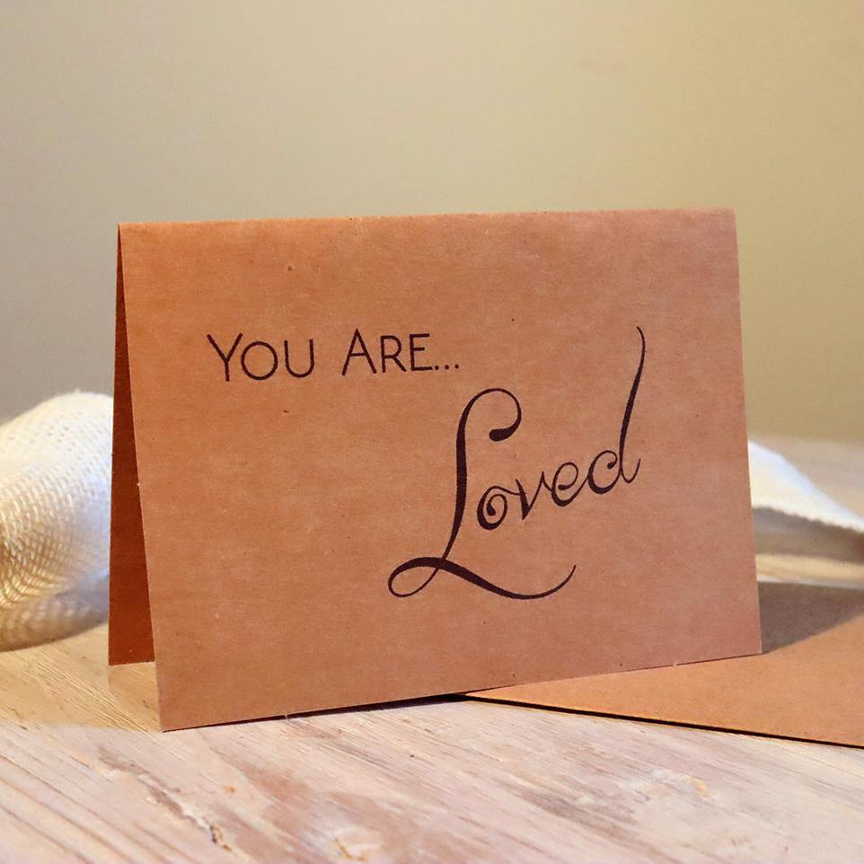 Greeting Card - You are Loved - Alywillow