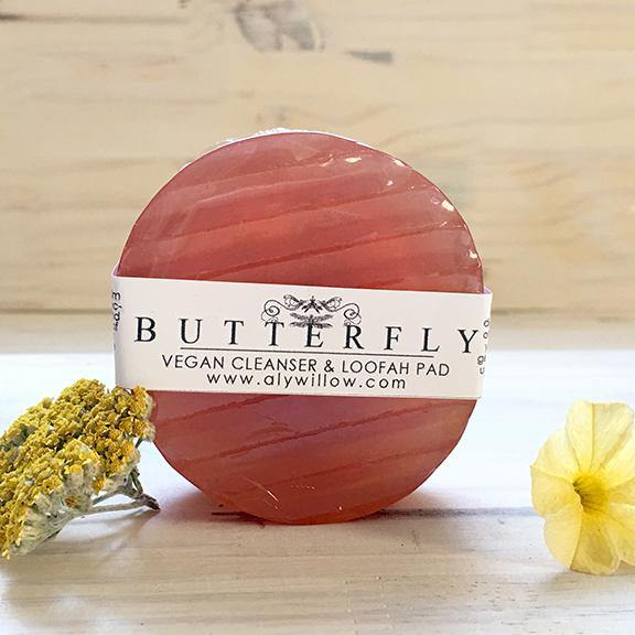 BUTTERFLY Vegan Bar Cleanser - Alywillow