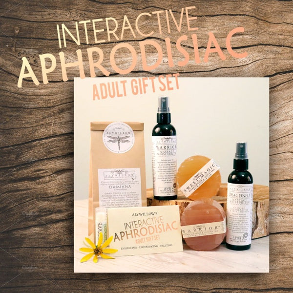 INTERACTIVE APHRODISIAC GIFT SET to deepen your bonds and increase intimacy