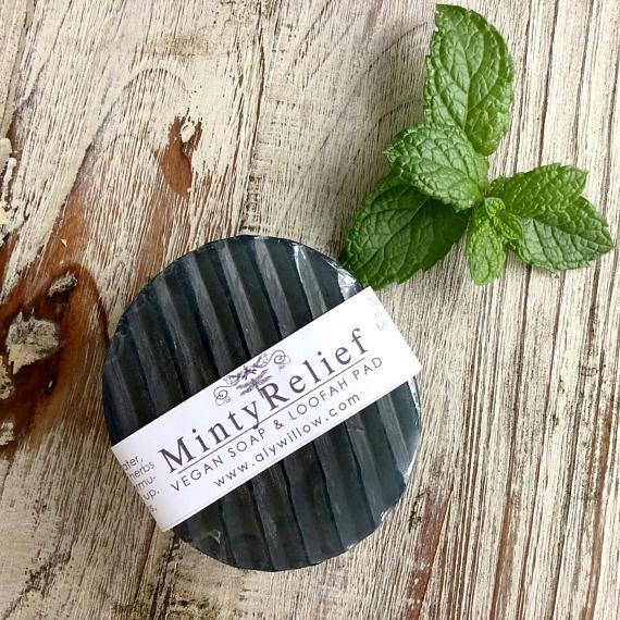 Minty Relief Medicinal Vegan Bar Soap