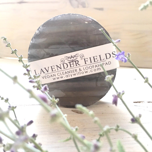 LAVENDER FIELDS Vegan Bar Cleanser - Alywillow