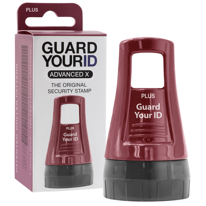 GUARD YOUR ID Advanced X Roller 3-Pack with Bonus Free Roller