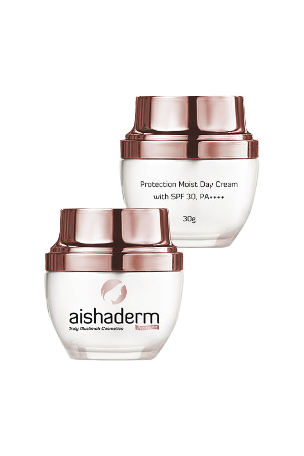 AISHADERM PREMIUM Protection Moist Day Cream with SPF 30, PA++++