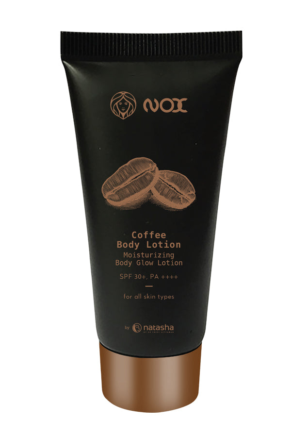 NOX Coffee Body Lotion, Moisturising Body Glow Lotion