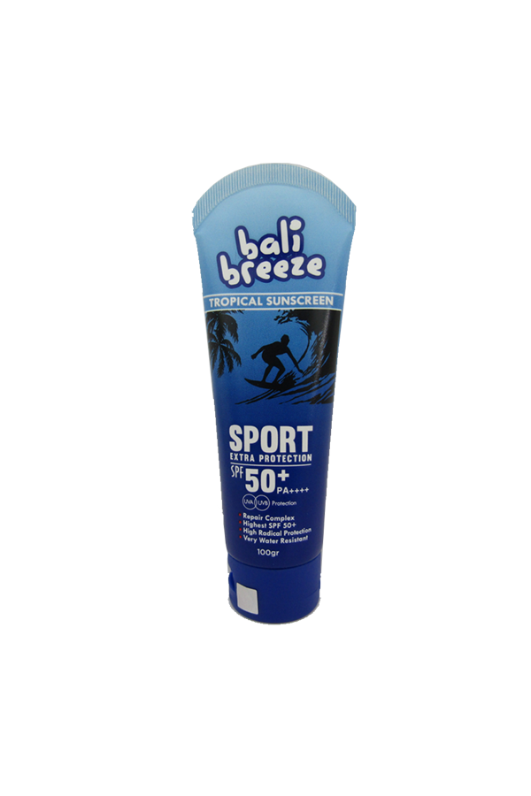 BALI BREEZE SPORT 125 Tropical Sunscreen Cream, SPF 50+, PA ++++