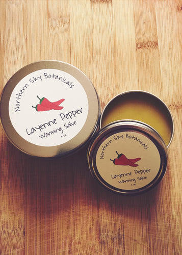 Cayenne Pepper Warming Salve