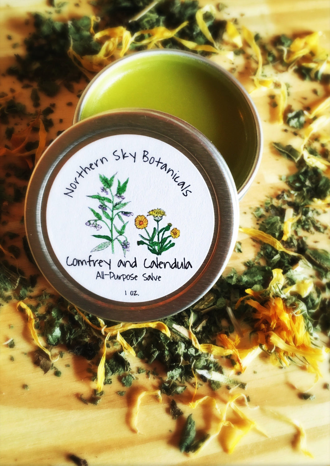 Comfrey and Calendula All-Purpose Salve
