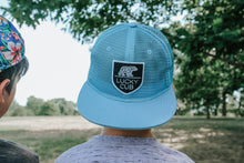Carolina Blue All Mesh Trucker