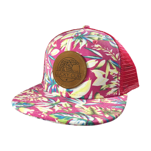Pink Hawaiian Trucker