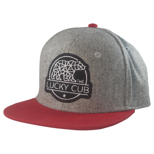Heritage Wool Snapback—Red