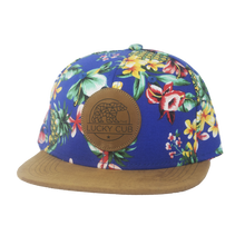 Blue Hawaiian Snapback Hat