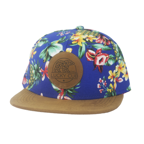 Blue Hawaiian Snapback