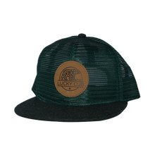Forest Green All Mesh Trucker