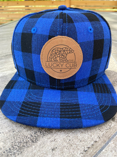 Blue Buffalo Plaid Snapback