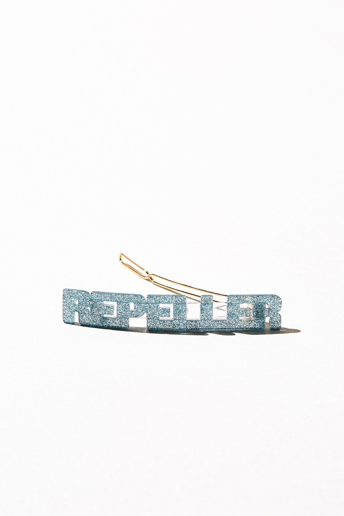 Repeller Flagpole - Blue Glitter