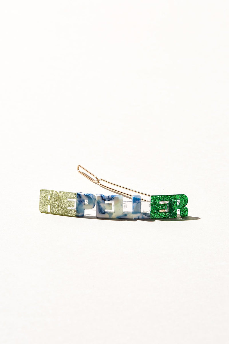 Repeller Flagpole - Green/Blue/Kelly