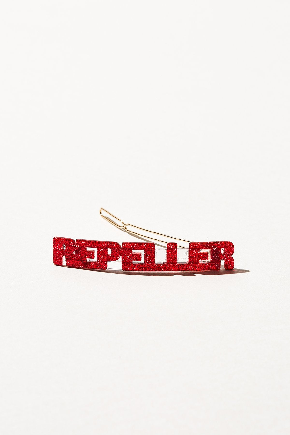 Repeller Flagpole - Red Glitter