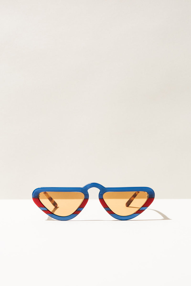 Unibrow Sunglasses - Navy