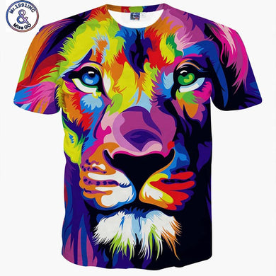 VividTee's Watercolor Lion