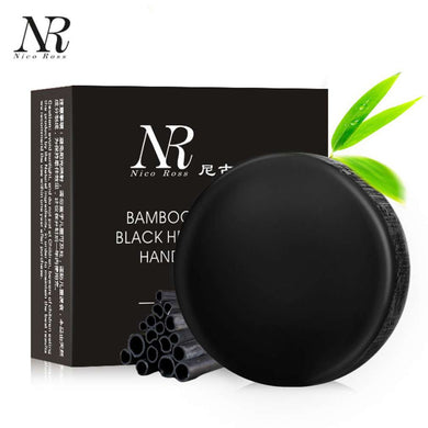 Bamboo Charcoal Homemade Soap & Facial Cleanser (Helps with Acne)