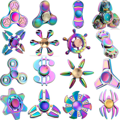 Fidget Spinner MULTI COLOR METAL Collection