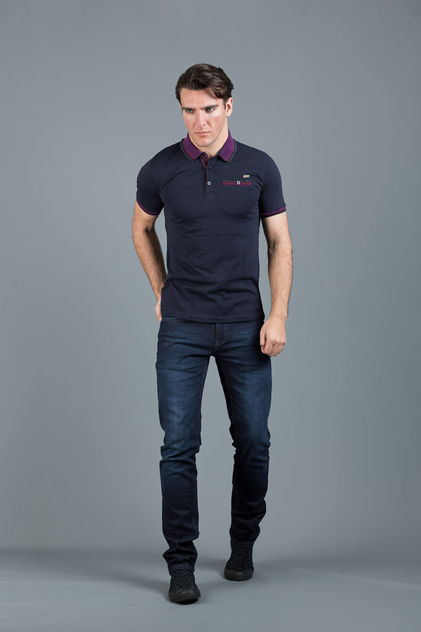 LLOYD NAVY POLO