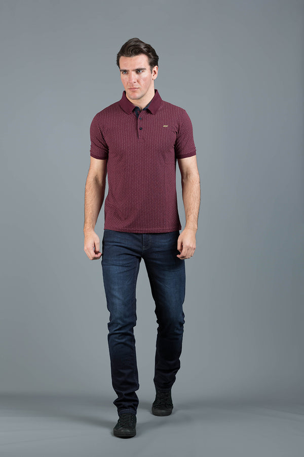 LATIL BURGUNDY POLO