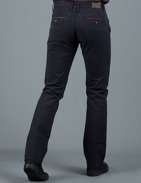 JONNIE NAVY SLIM FIT CHINO