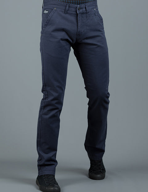 JONNIE DARK BLUE SLIM FIT  CHINO