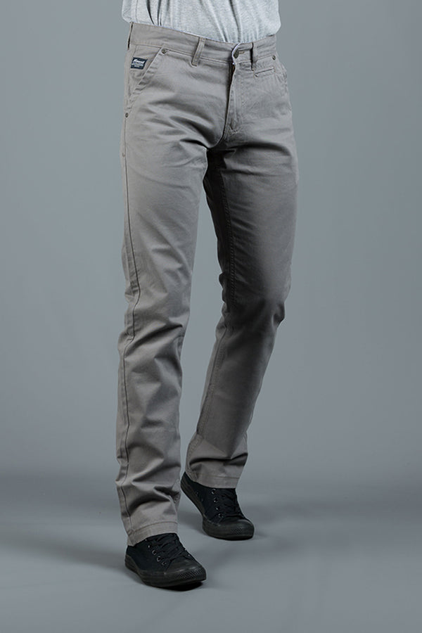 JONNIE STORM GREY SLIM FIT  CHINO