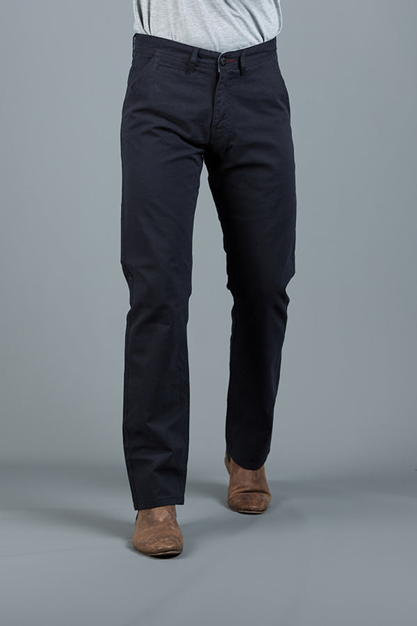 PETE 2 NAVY REGULAR FIT  CHINO
