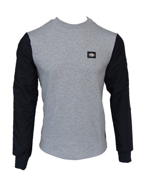 Camberwell Sweat Black/Grey