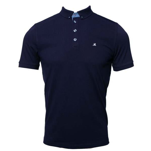 PRINCESS 3 ECLIPSE NAVY POLO  TEE
