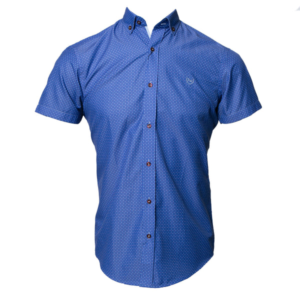 STELVIO BLUE/SKY SHORT SLEEVE SHIRT
