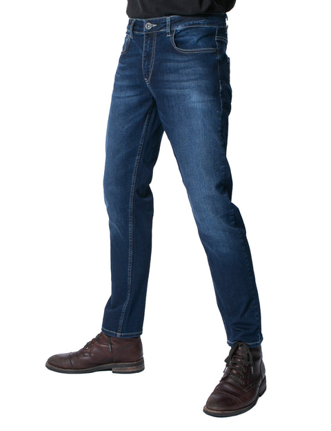 ANDRES BLUE WASH SLIM FIT DENIM