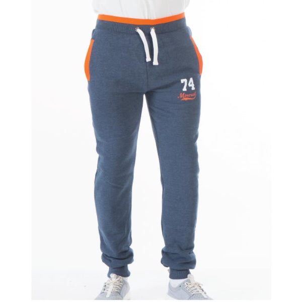 LIPARI NAVY CUFFED JOG BOTTOMS
