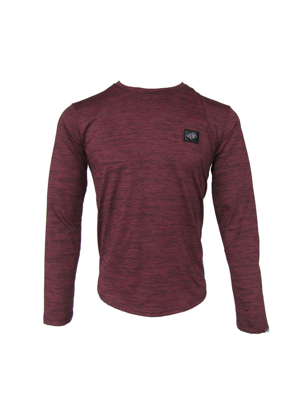 Slasher Plum Poly Longsleeve Tee