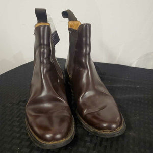 Brown Leather Boots 5 1/2