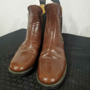 Light Brown Leather Boot 5 1/2