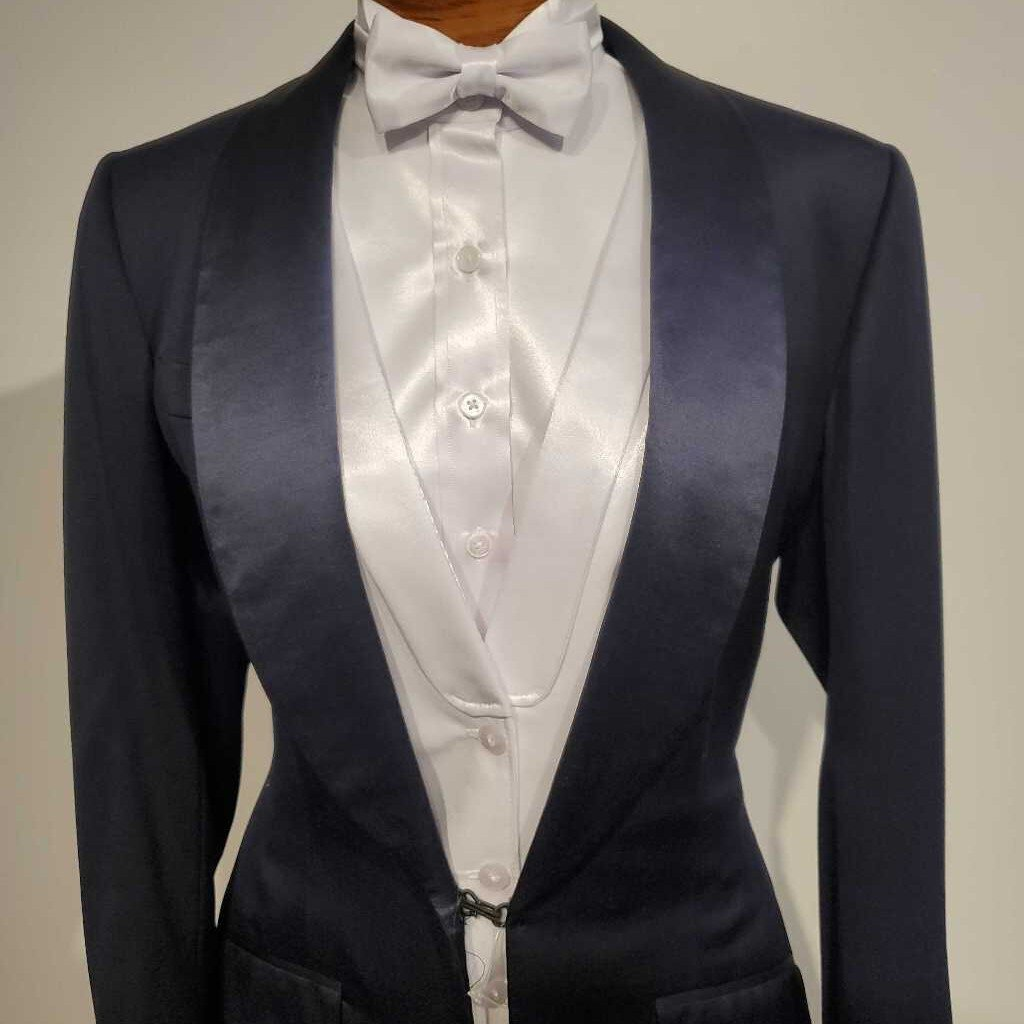 Navy Formal Tux with 2 Pairs of Jods(Missing Buttons)