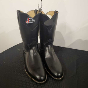Justin Black Boots Size 9 - NWT